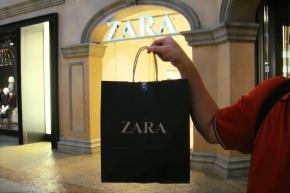ZARAでダーリンの長袖シャツを買いました~。シャツはそのうちお披露目しますね~(*・ω・*)