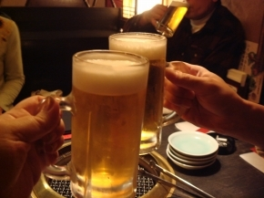 ((8-(o・ω・)o□☆□o(・ω・o)-8))乾杯♪