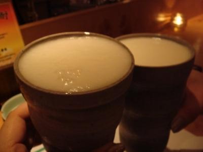 とりあずビール♪ 泡がクリーミーヽ(○´3`)ノ
