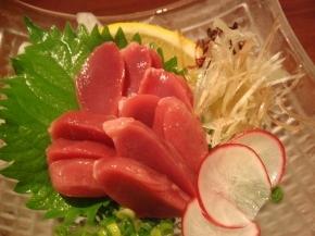砂肝のお刺身ー!コリコリ食感がたまんなーいヽ(○´3`)ノ
