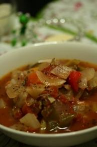 ミネストローネ風野菜たっぷりスープ