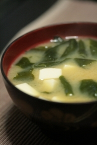 豆腐とわかめはダーリンが好きな組み合わせです♪