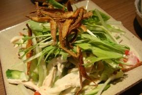 鶏のささみのなんちゃらかんちゃらサラダ・・・これも名前覚えない(つω`*)