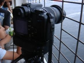 カメラはこんな感じにセティング~