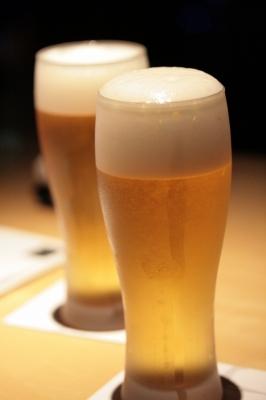 生ビール  ドラフト(スーパードライ) 840円 (税込)