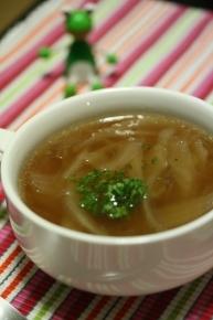 じっくりコトコト煮たオニオンスープ