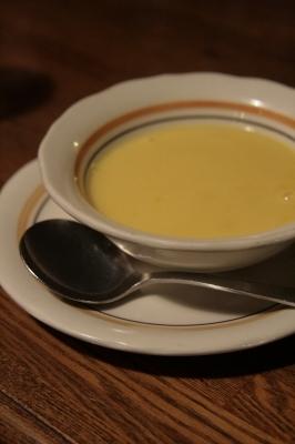 セットのコーンスープ