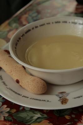 ナナはコーンスープ