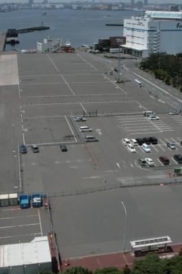 12時過ぎのスカイウォークの駐車場