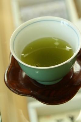 水出し煎茶!先日お茶屋さんのブログで紹介されてた気まぐれブレンド♪